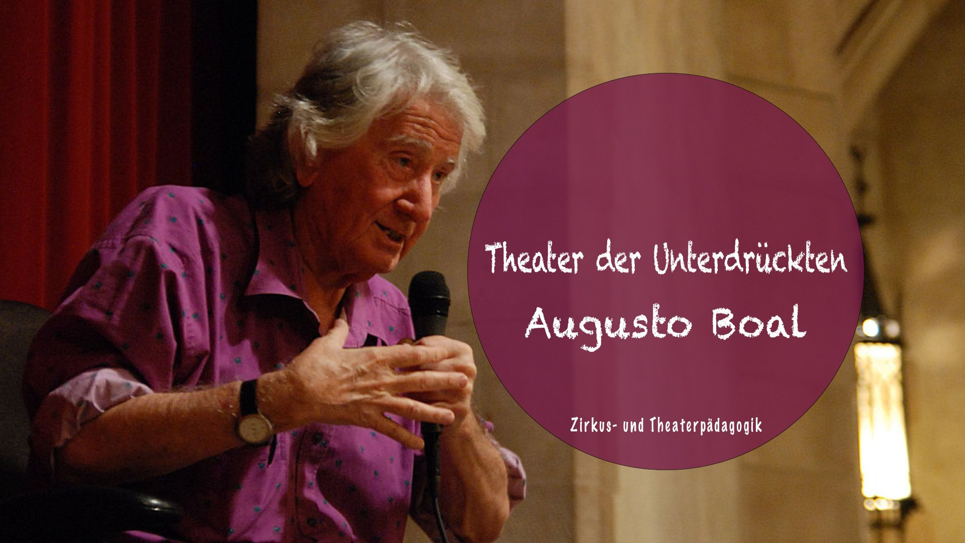Augusto Boal und das Theater der Unterdrückten